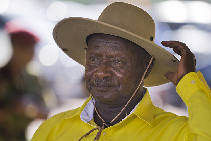 Uganda's ruling party endorses Museveni for sixth-term run
