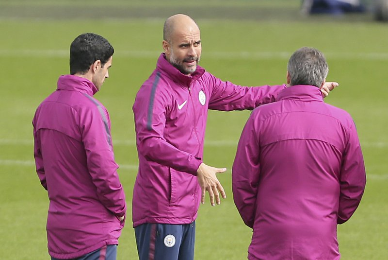 Guardiola sees need for CL glory at City but isn't in a rush
