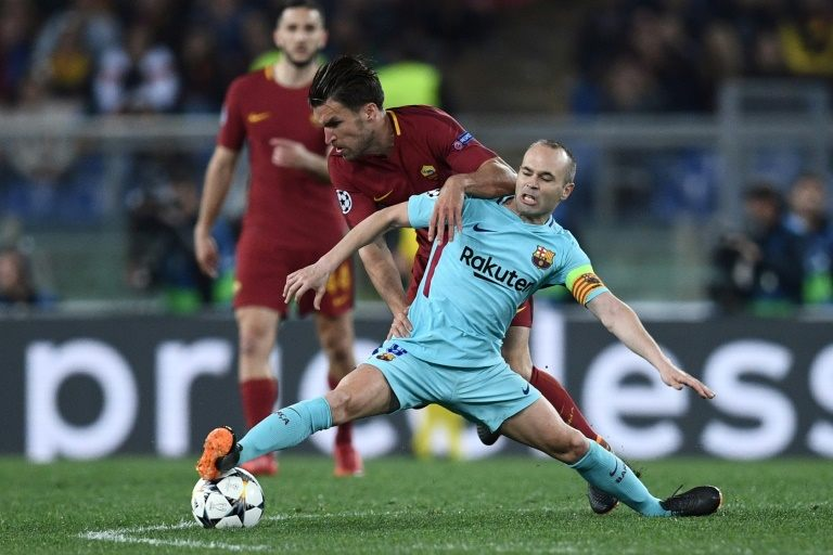 Iniesta admits 'pain' after Barcelona suffer shock Champions League exit