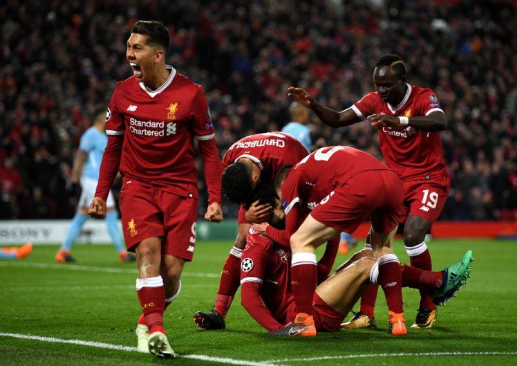 Guardiola sent off as Salah sends Liverpool into semi-finals