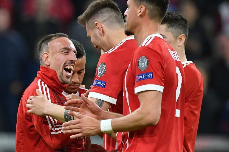 Bayern Munich reach semi-finals after Sevilla stalemate