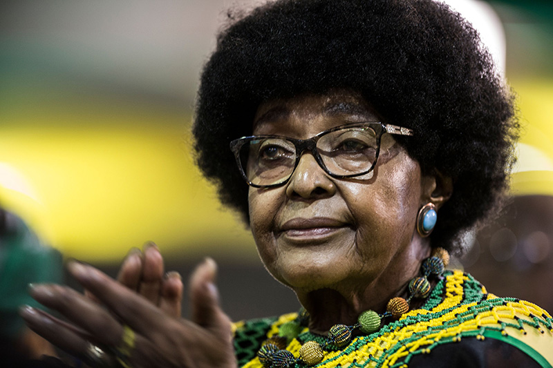 'Winnie!' South Africa bids farewell to Madikizela-Mandela