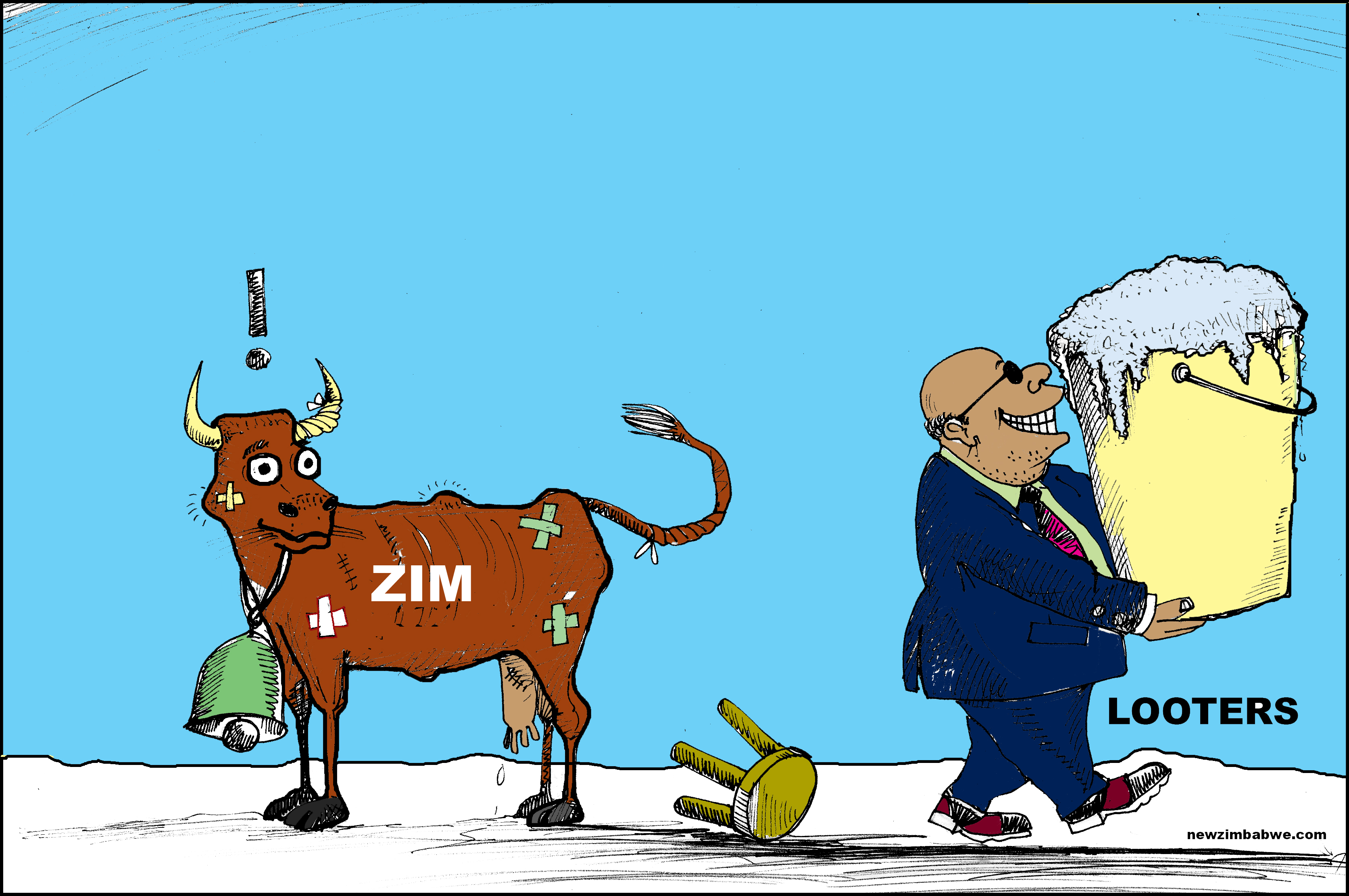 ZIM AND THE LOOTERS