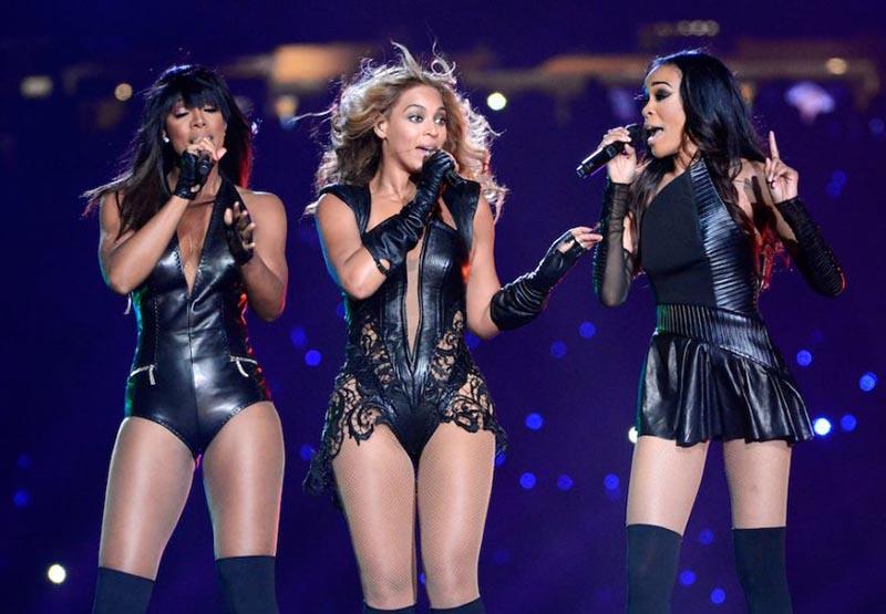 Beyonce's set includes Destiny's Child reunion