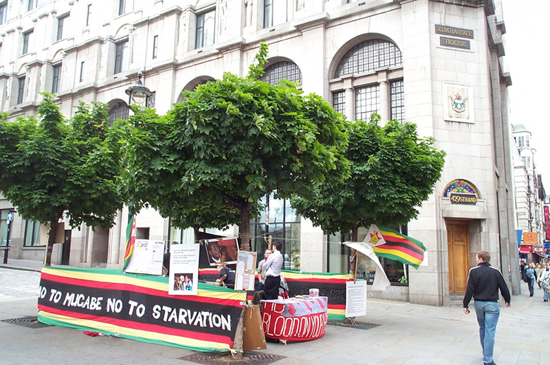 Three years later, Zimbabwe appoints ambassador to the UK
