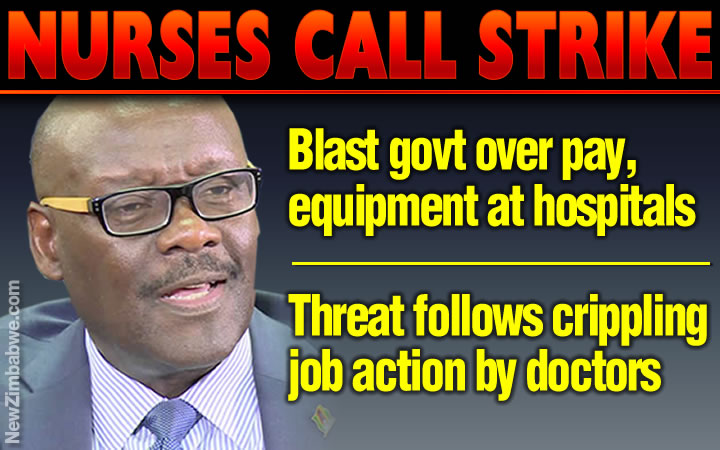 Nurses call nationwide strike, blast dishonest government