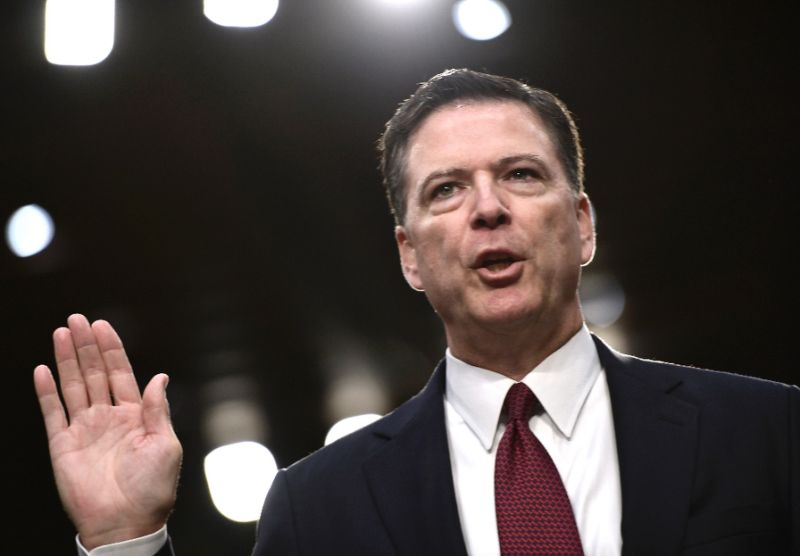 Trump 'morally unfit' for office, fired FBI chief Comey