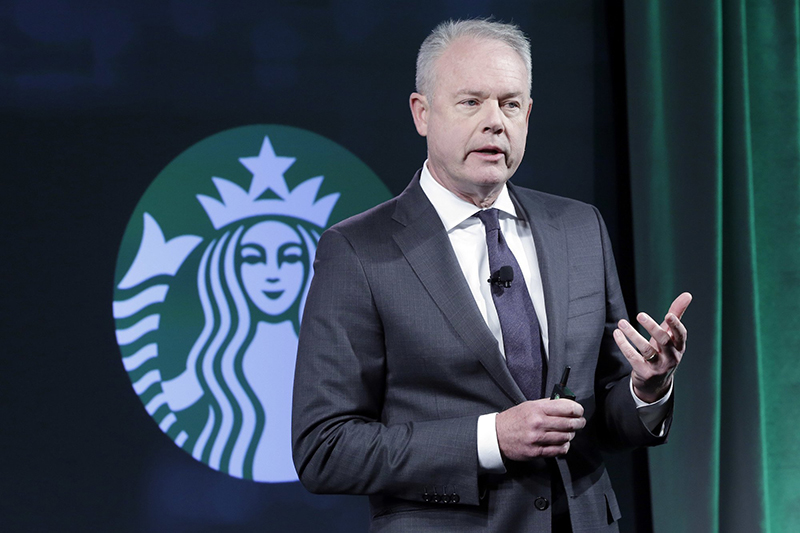Starbucks CEO apologizes for 'reprehensible' arrest of two black men