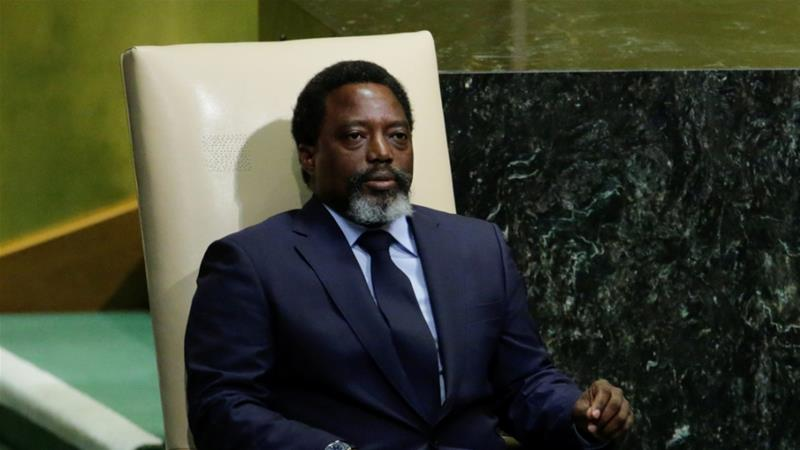 Kabila slams foreign 'blackmail' ahead of DRC vote