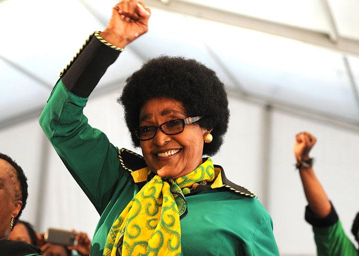 IN PICTURES: Anti-apartheid heroine Winnie Mandela's last journey