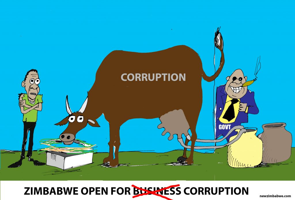Zim Open For Corruption