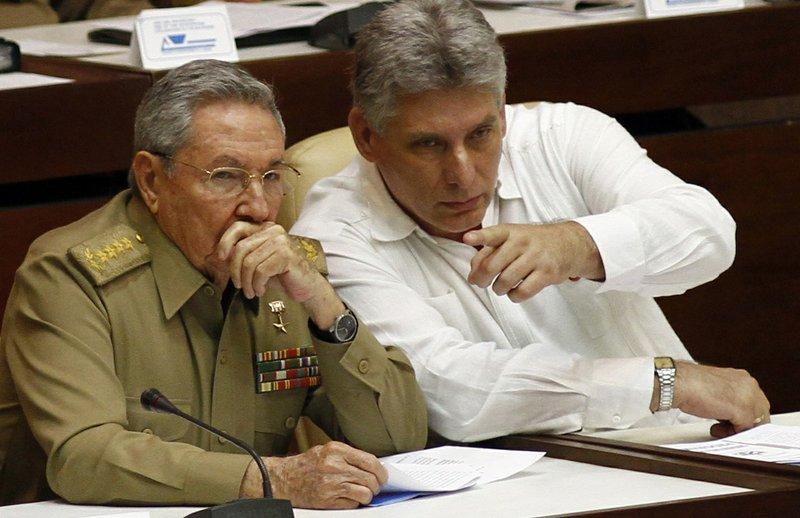 Younger party official faces test as Cuba's next president