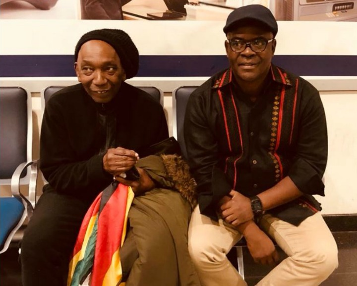 Mapfumo's manager on the mend
