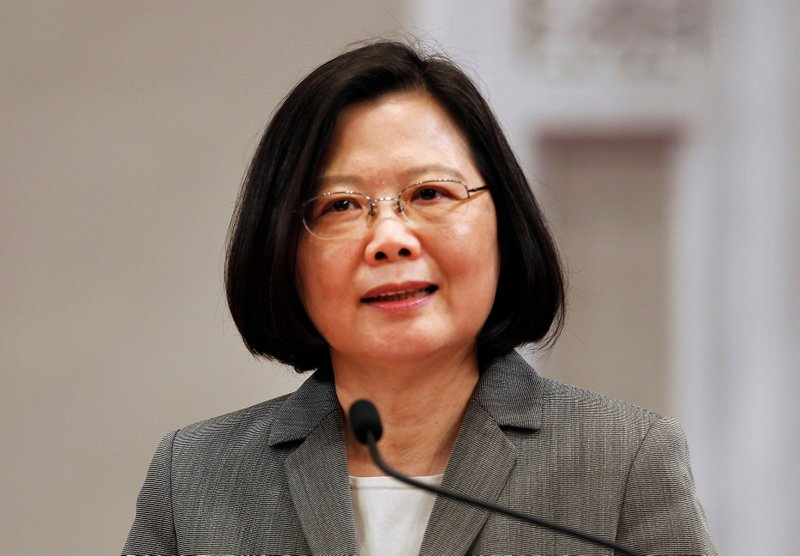 Taiwan's leader visits rare African ally, tiny Swaziland