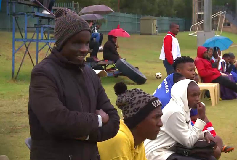Blind football on the rise in Zimbabwe