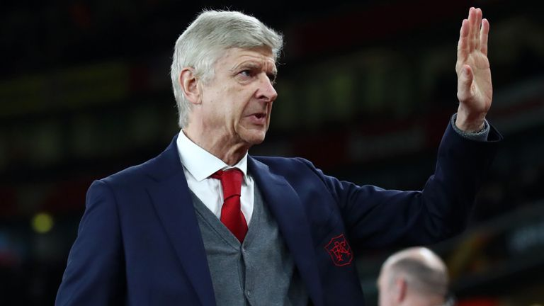 Wenger to leave Arsenal next month