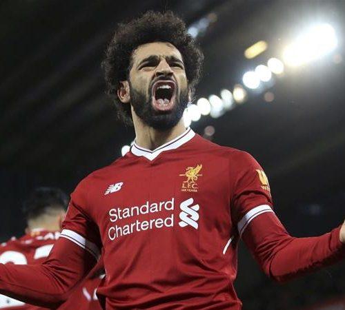 Salah on target as Liverpool go top of EPL table