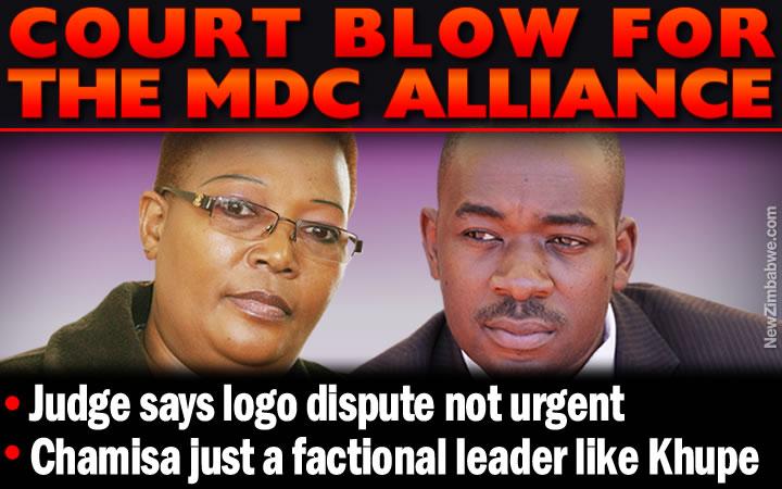 High Court dismisses Chamisa's challenge against Khupe