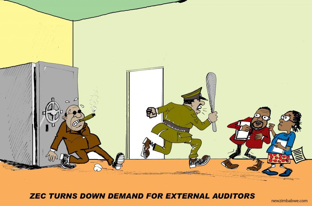 ZEC turns down external auditors demand