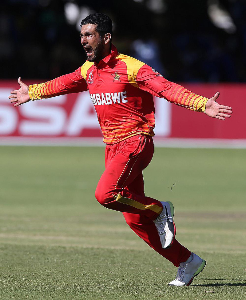 Cricketer Raza Off Of Caribbean Premier League