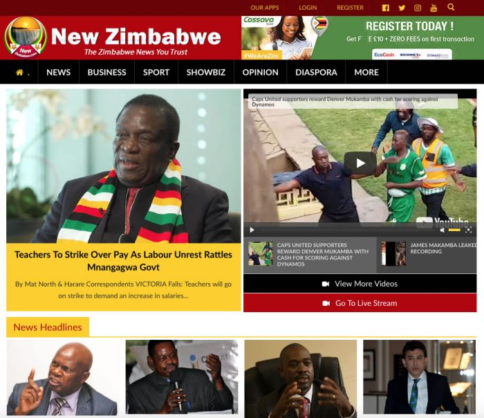 Savvy Zimbabweans Turn To Online Publications For News