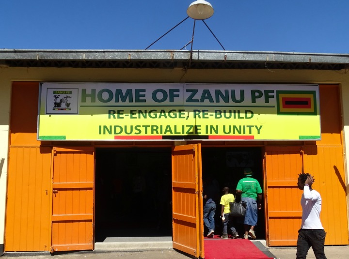 Tshinga leads as Zanu PF takes campaign to the Trade Fair, grabs entire Hall Five