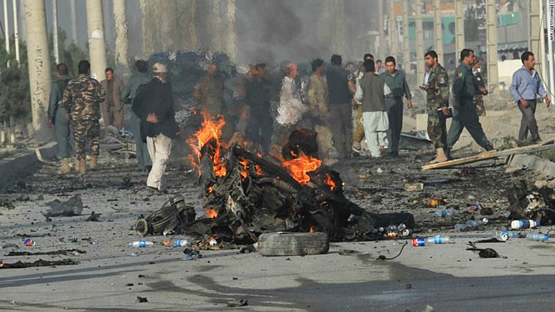Ten journalists among dozens killed in Afghan attacks