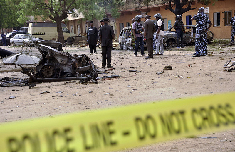 More than 60 killed in Nigeria suicide blasts
