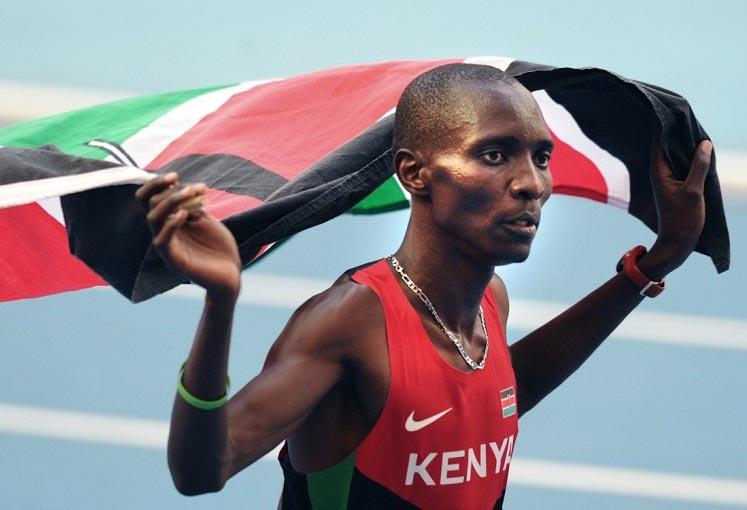 Kenya star denies doping, hints at botched extortion