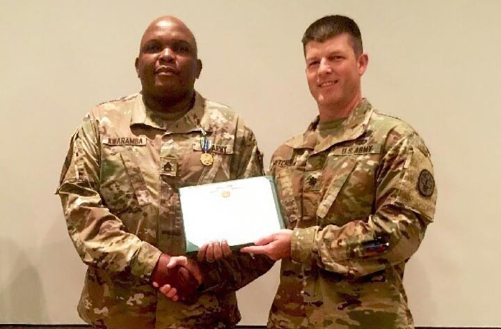 UNITED States: Staff Sgt. Claymore Kwaramba – A story of resilience