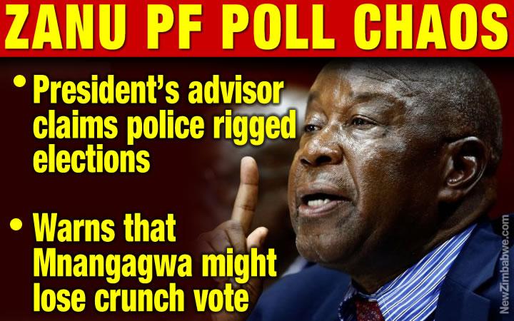 Police rigged Zanu PF elections – rages thumped Mutsvangwa
