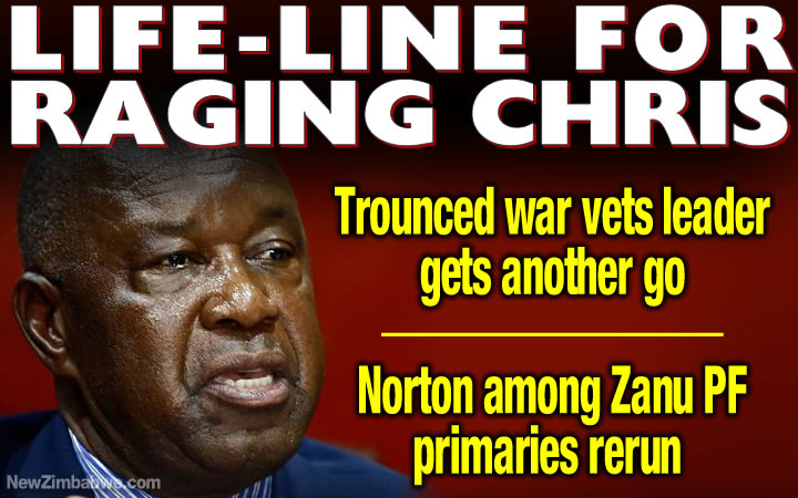 Norton relief for angry Mutsvangwa; war vets leader gets another go