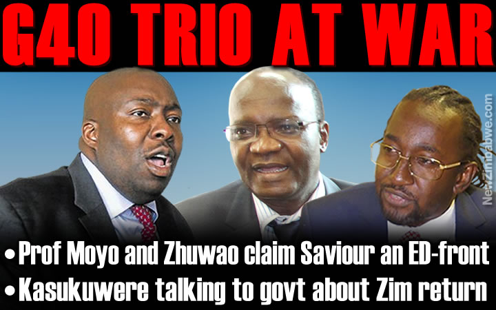 G40 ruptures: Zhuwao, Moyo accuse Kasukuwere of being a Mnangagwa front