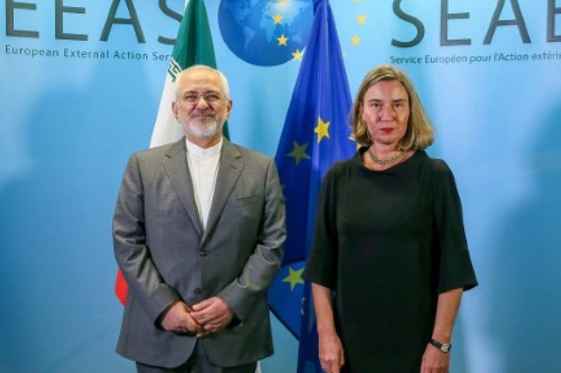 EU 'determined to preserve' Iran nuclear deal
