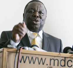 MDC-T minimum conditions for elections