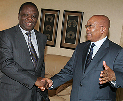 Tsvangirai, Zuma team engineering false crisis