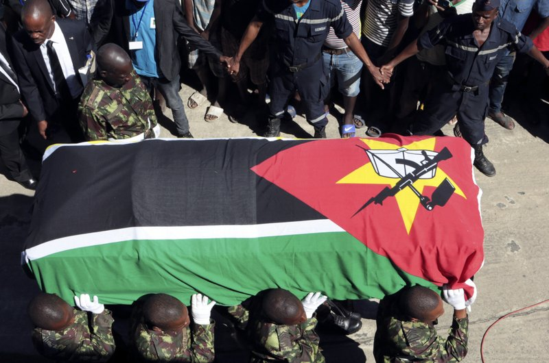 Thousands mourn Mozambique rebel leader as talks to press on