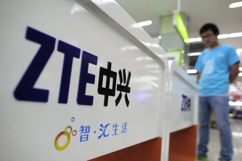 China's tech firm ZTE halts major operations following US export ban