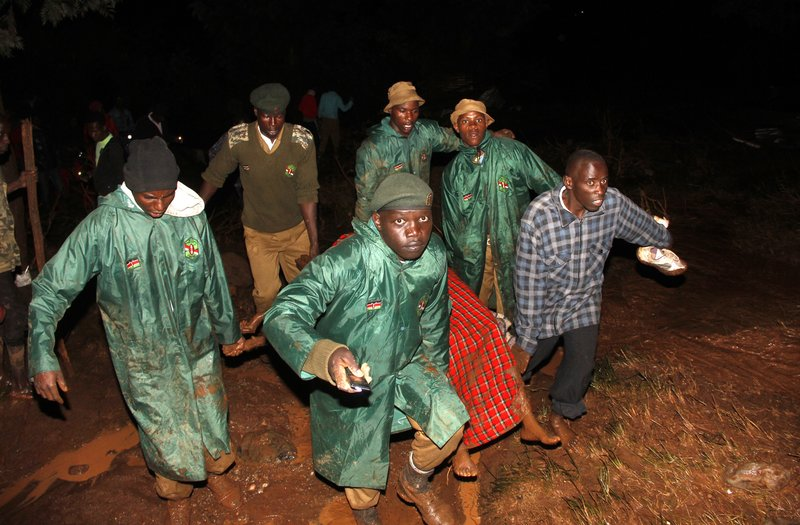At least 44 killed as dam bursts in Kenya, officials say