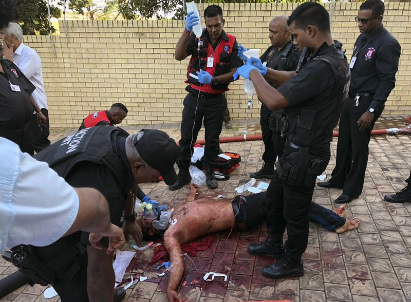 1 killed, 2 badly wounded in South Africa mosque attack