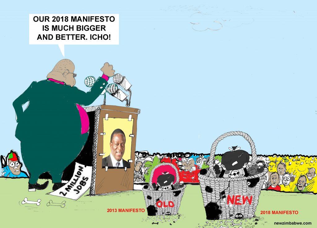 ZANU PF New Manifesto