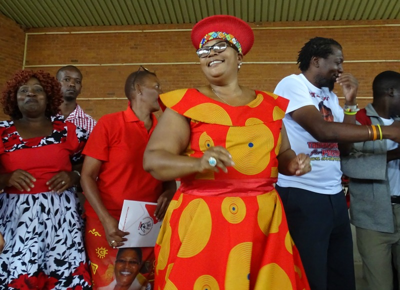 Khupe finally comes to Harare; set to hold 'rally' in a hall