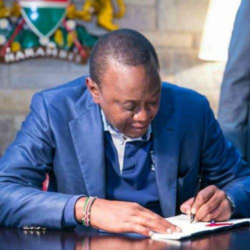 Kenyatta proposes 50 cent cut in fuel tax