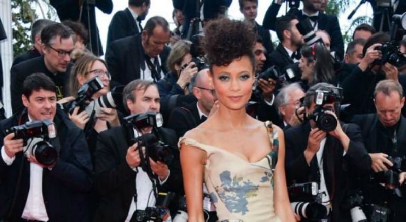 Thandie Newton's Dress Makes a Political Statement