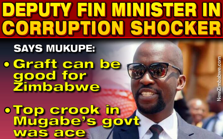 Minister Mukupe stuns guests; tells conference corruption can be good for Zimbabwe