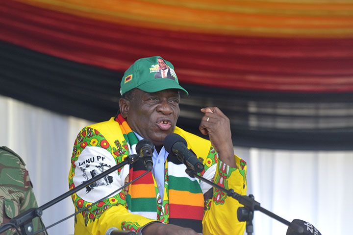 MUTARE Rally: Mnangagwa says election proclamation end of this month; Pictures