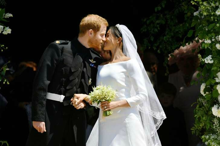 Sealed with a kiss: Harry and Meghan marry in Windsor