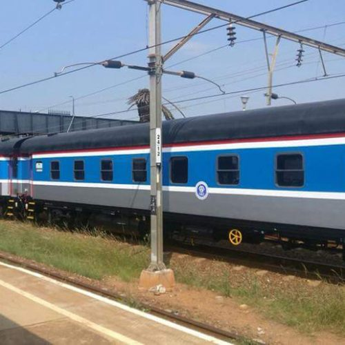 NRZ coaches hired from SA vandalised