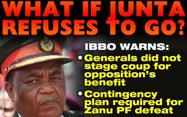 Anti-coup plan needed before elections – Mandaza; what if defeated junta refuses to go?