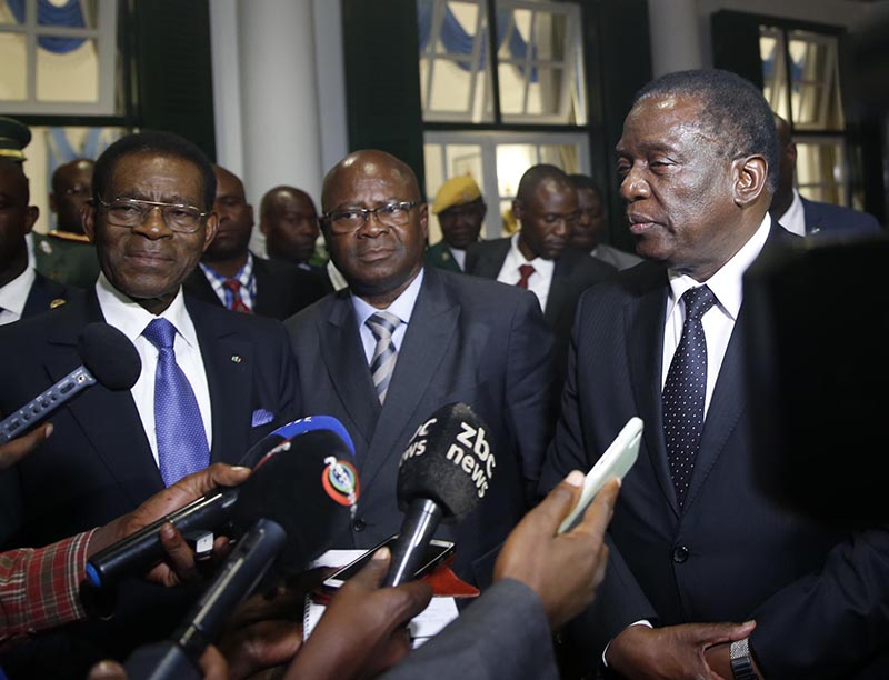 Equatorial Guinea in Mnangagwa talks; expected to meet mate Mugabe